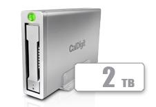 AV Pro 2 Storage Hub USB C External Drive - 2TB