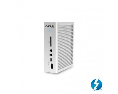 TS3 Plus (2.0m) - Thunderbolt Station 3 Plus (Silver) with [Certified] Thunderbolt 3 Cable