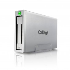 CalDigit AV Pro 2 Storage Hub USB C External Drive - Charge up to 30W, 2016 Macbook, Macbook Pro, Thunderbolt 3 PC Compatible - 3TB (shipping by end of Sep/2017)