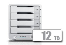 T4 Thunderbolt™ 3 RAID - HDD (12TB)  **November Sale** *FREE 2TB AVPro 2 with T4 purchase