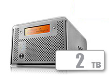 CalDigit VR2 RAID (2TB