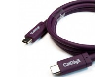 CalDigit USB-C 3.1 Gen 2 Cable (10Gb/s) Type-C Male to Type-C Male, C to C (1.0 Meter / 3.28 ft)