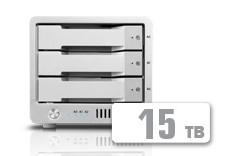 T3 Thunderbolt™ 2 RAID - HDD (15TB)