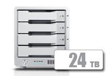 T4 Thunderbolt™ 3 RAID - HDD (24TB)