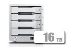 T4 Thunderbolt™ 3 RAID - 外接式磁碟陣列設備 - 16TB