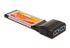 2 Port USB 3.0 筆電專用介面擴充卡
