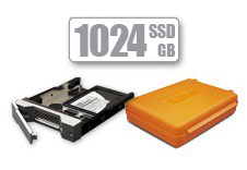 Universal CalDigit Drive Module with Archive Box (1024GB SSD)