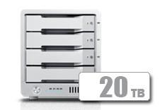 T4 Thunderbolt™ 3 RAID - HDD (20TB)