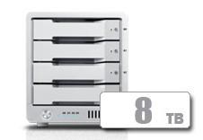 T4 Thunderbolt™ 3 RAID - HDD (8TB)