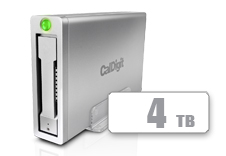 AV Pro 2 Storage Hub USB C External Drive  - Up to 30W Laptop Charging, 2016, 2017, 2018 Macbook, Macbook Air, Macbook Pro, Thunderbolt 3 PC Compatible - 4TB
