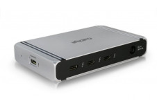 Thunderbolt 4 Element Hub - 4x Thunderbolt 4 / USB4 Ports, 4x USB 3.2 Gen2 10Gb Ports, Dual 4K@60 Support. 60W Laptop Charging with 0.8m Cable *Back-Order. Shipping Mid May*