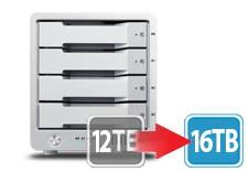 T4 Thunderbolt™ 2 RAID - HDD (12TB) **NAB Promo - Free Upgrade 12TB to 16TB