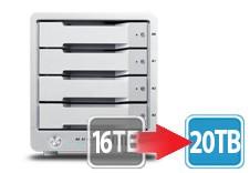 T4 Thunderbolt™ 2 RAID - HDD (16TB) **NAB Promo - Free Upgrade 16TB to 20TB