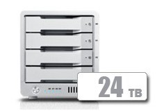 T4 Thunderbolt™ 3 RAID - HDD (24TB) **Shipping Mid April 2018
