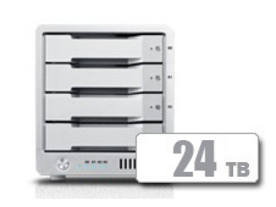 T4 Thunderbolt™ 3 RAID - HDD (24TB) **IN STOCK NOW!