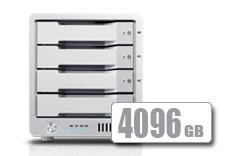 T4 Thunderbolt™ 2 RAID - SSD (4096GB)