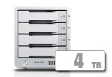 T4 Thunderbolt™ 2 RAID - HDD (4TB)