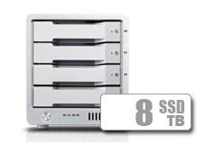 T4 Thunderbolt™ 3 RAID - SSD (8TB)