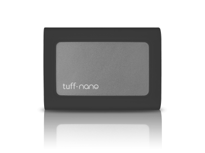 Tuff nano USB-C Portable External SSD - 1TB Charcoal Black