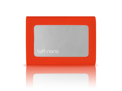 Tuff nano USB-C Portable External SSD - 1TB Tomato Red