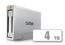 CalDigit AV Pro - USB 3.0 + FireWire 800(4TB)