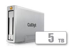 CalDigit AV Pro - USB 3.0 + FireWire 800(5TB)
