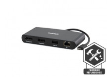 Thunderbolt 3 mini Dock Dual DisplayPort (No Laptop Charging)