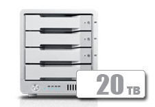 T4 Thunderbolt™ 3 RAID - HDD (20TB) **November Sale** *FREE 2TB AVPro 2 with T4 purchase