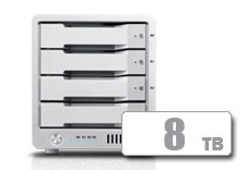T4 Thunderbolt™ 3 RAID - HDD (8TB)  **November Sale** *FREE 2TB AVPro 2 with T4 purchase