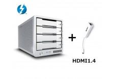 T4 Thunderbolt™ 3 RAID - 外接式磁碟陣列設備 - 12TB