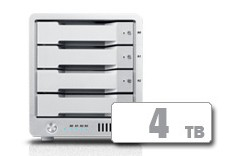 T4 Thunderbolt™ 3 RAID - HDD (4TB)