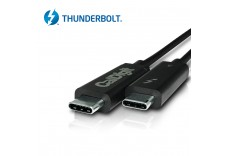Thunderbolt 3 Cable (0.7m, 2.29 ft) Passive [CERTIFIED] 40Gb/s, 100W, 20V, 5A