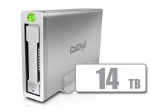 AV Pro 2 Storage Hub USB C External Drive - Up to 30W Laptop Charging, 2016, 2017, 2018 Macbook, Macbook Air, Macbook Pro, Thunderbolt 3 PC Compatible - 14TB
