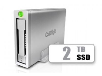 AV Pro 2 Storage Hub USB C External Drive - Up to 30W Laptop Charging, 2016, 2017, 2018 Macbook, Macbook Air, Macbook Pro, Thunderbolt 3 PC Compatible - 2TB SSD