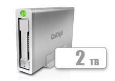 AV Pro 2 Storage Hub USB C External Drive - Charge up to 30W, 2016, 2017 Macbook, Macbook Pro, Thunderbolt 3 PC Compatible - 2TB