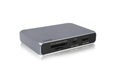 USB-C SOHO Dock - Gen.2 10Gb/s - Up to 4K 60Hz, HDMI 2.0b, DP 1.4, 10Gb/s USB-A & USB-C, Dual UHS-II Card Readers