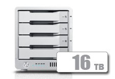 T4 Thunderbolt™ 3 RAID - HDD (16TB) **IN STOCK NOW!