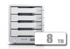 T4 Thunderbolt™ 3 RAID - HDD (8TB) **IN STOCK NOW!