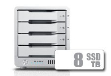 T4 Thunderbolt™ 3 RAID - SSD (8TB) **IN STOCK NOW!