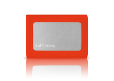 Tuff nano USB-C Portable External SSD - 512GB Tomato Red